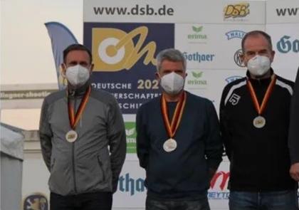 Gerd Ulbrich, Walter Lindner, Gebhard Fürst-10m Armbrust-Herren III-Silber