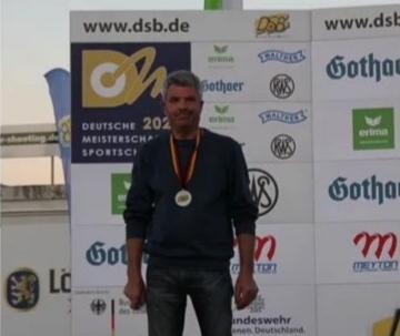 Walter Lindner-10m Armbrust-Herren IV-Silber